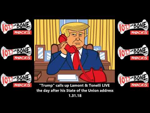 """President """"Trump"""" Post State of the Union Radio Interview"""