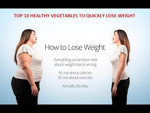 TOP 10 HEALTHY VEGETABLES TO QUICKLY LOSE WEIGHT | Beauty Tips Today
