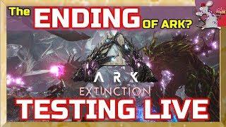 ARK Extinction Ending? Mega Mech King TItan - Can We Find The Ending Of Ark Survival Evolved