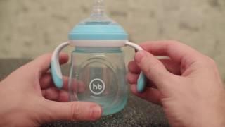 Обзор бутылочки Happy Baby с ручками и антиколиковой силиконовой соской