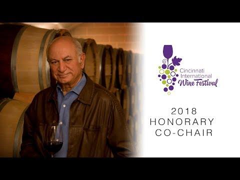 Cincinnati International Wine Fest 2018 Co-Chair Darioush Khaledi