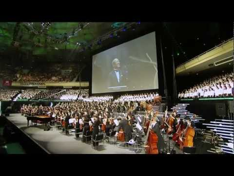 Joe Hisaishi Live - Ashitaka and San (Hight Quality sound)