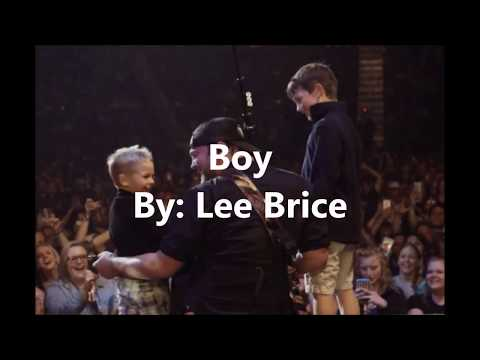 Boy By Lee Brice Lyric Video