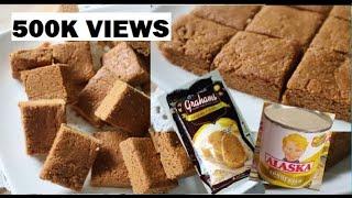 No bake| graham bars | lasang yema| super easy lang gawin