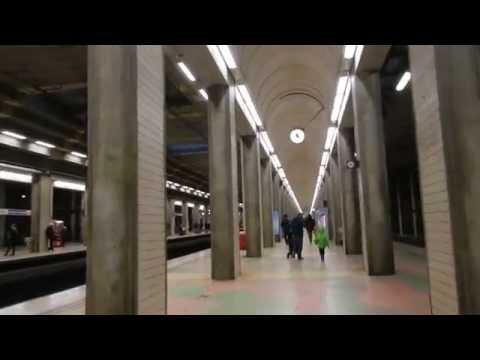 Stockholm - Stockholms Södra Station for the Pendeltåg to the City Centre 2014 10 26