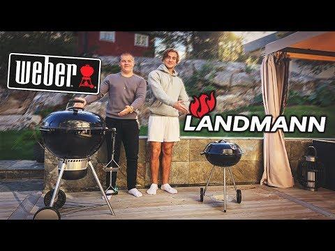 Weber vs Landmann - Vilken grill är bäst? ft. Joppe