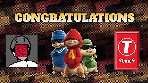 pewdiepie congratulations chipmunks version  lyrics  alhan creations