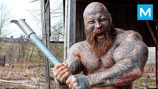 """GYM NIGHTMARE - Jens """"The Beast"""" Dalsgaard   Muscle Madness"""