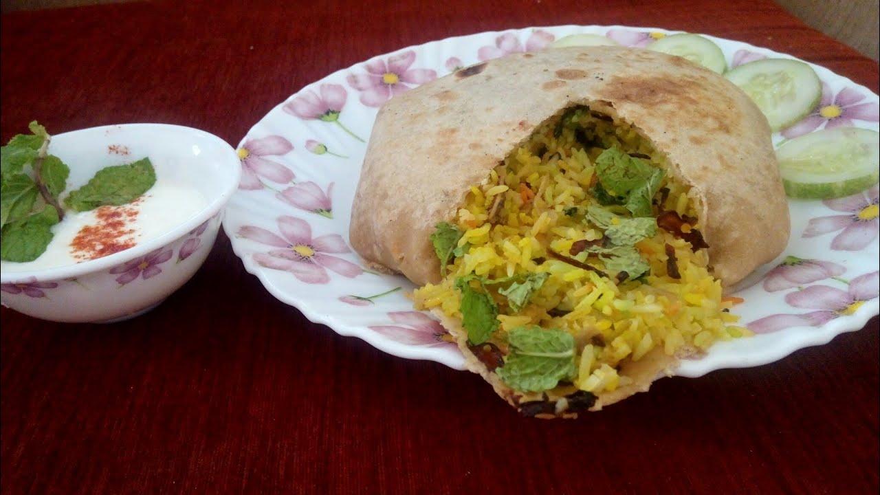 Parda biryani/potli biryani/Bangalore biryani in parda/simple parda biryani without oven
