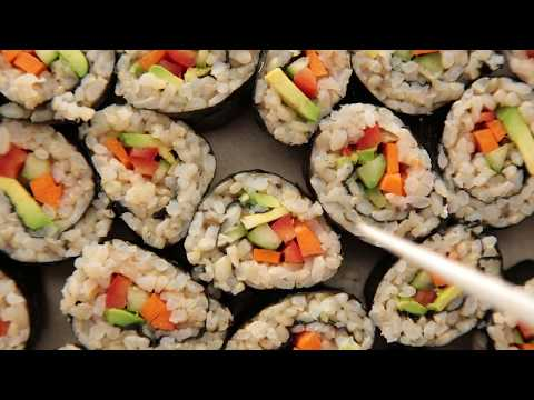Vegetable Brown Rice Sushi