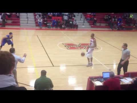 Flower Mound Marcus Xavier Adams game winning 3 pointer  1/17/14