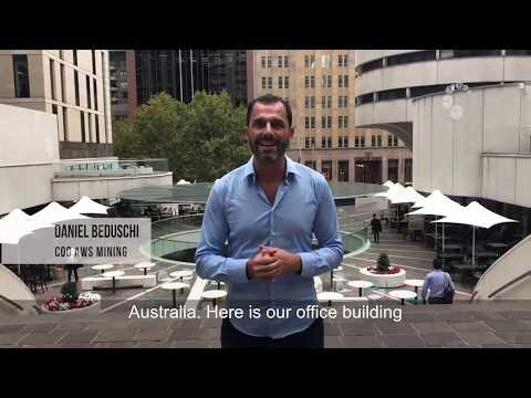 SEDE AWS MINING AUSTRÁLIA Visiting Sydney