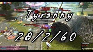 RAN Online(TH) Sv.Ginza Tyranny 28/2/60 (แดงเป็นแกงพะแนงเลยสาดดด)