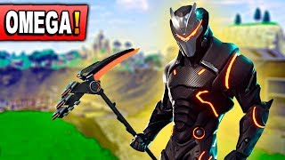 IMPROVING OMEGA LEGENDARY SKIN *LEVEL UP* Fortnite: Battle Royale