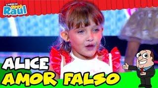 Baixar Criança canta -Aldair Playboy-  Kevinho- Wesley Safadão  - Amor Falso - YouTube TVRG ALICE
