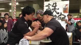 2016 神戸中央卸売市場アームレスリング大会