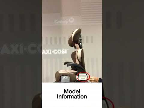 Cosco Pronto Booster Car Seat How To Find Expiration Date Model Info