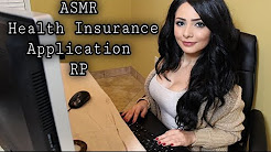 ASMR Health Insurance Application Roleplay (Typing Sounds, Soft Spoken)