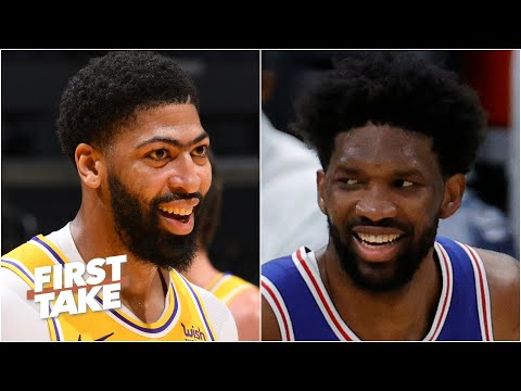 Joel Embiid or Anthony Davis: Who is the best big man in the NBA? | First Take