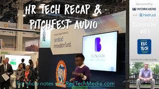 HR Tech Recap and Pitchfest Audio