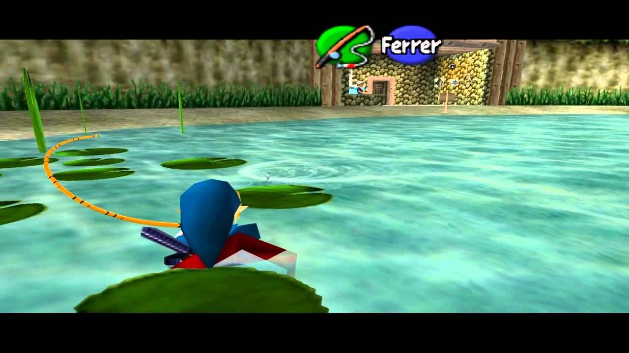 Canne à Pêche  Puissance Zelda