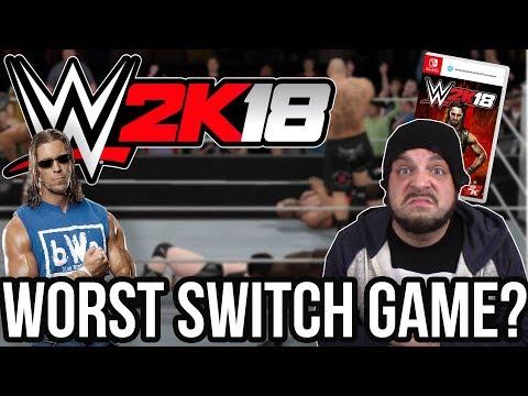 WWE 2K18 Nintendo Switch - Worst Switch Game? with Stevie Richards!   RGT 85