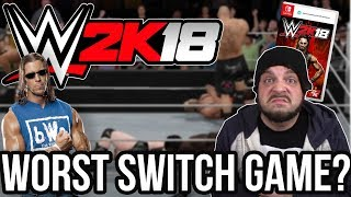 WWE 2K18 Nintendo Switch - Worst Switch Game? with Stevie Richards! | RGT 85