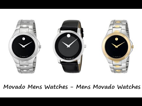 b78dcb98194c9d Movado mens watches / Mens movado watches - YouTube