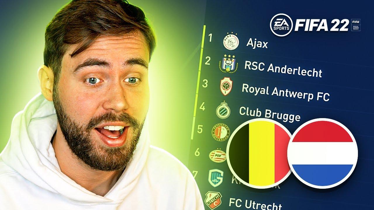 Download De BeNeLiga op FIFA 22!