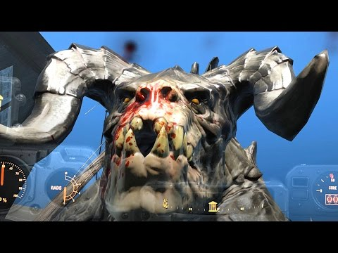 fallout 4 how to get rid of mirelurk queen body