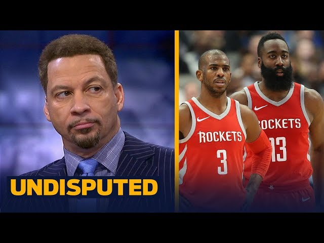 Chris Broussard on Harden and CP3's Rockets ready to challenge the injured Warriors | UNDISPUTED