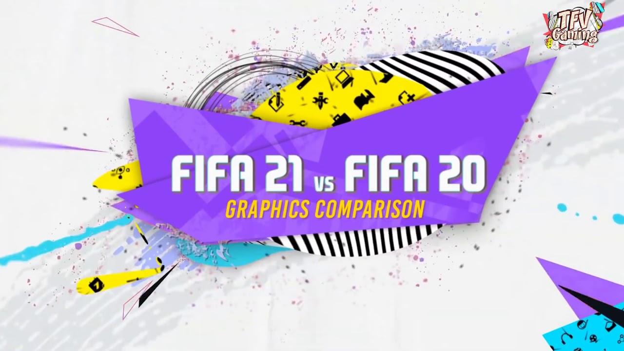 FIFA 21 VS FIFA 20 GRAPHICS COMPARISON! PS5 vs PS4 - YouTube