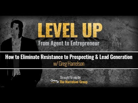 How to Eliminate Resistance to Prospecting & Lead Generation | Level Up Podcast