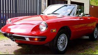 Tuning Alfa RomeoSpider (105/115) 1976#Superautotuning!
