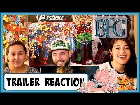 The BFG Official Trailer 2   Trailer Reaction