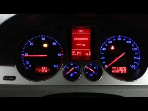 Electronic Parking Handbrake Faulty Switch - Warning Light - VW Passat B6 1.9TDI