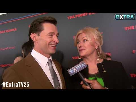 Hugh Jackman Dishes on Star-Studded 50th...