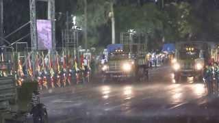 Desfile militar en aniversario del Ejército de Nicaragua