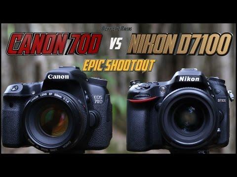 Canon 70D vs Nikon D7100 Epic Shootout Comparison | Which camera to buy?