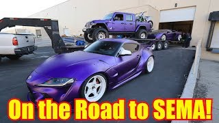 Introducing my Purple Supercar Collection
