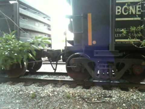 Freight Train Coupling