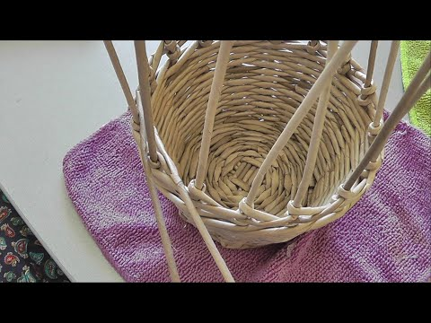 Ажурная вставка в плетении