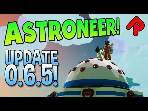 Conquering the Extra-Large Storage Dome! | Astroneer 0.6.5 Update part 2