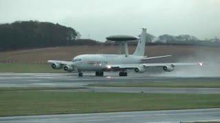 NATO Awacs - Prestwick Airport 2011