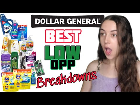 Dollar General LOW OOP 5/25 Scenarios (7/4)