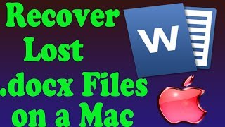 [9.00 MB] How to Find Unsaved or Lost Word Documents on a Mac