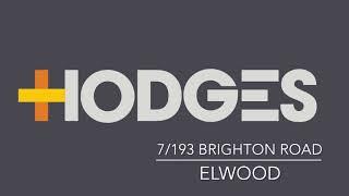 7/193 Brighton Road, Elwood