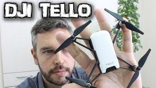 REVIEW DO DJI TELLO - Novo DRONE da DJI - Brasil