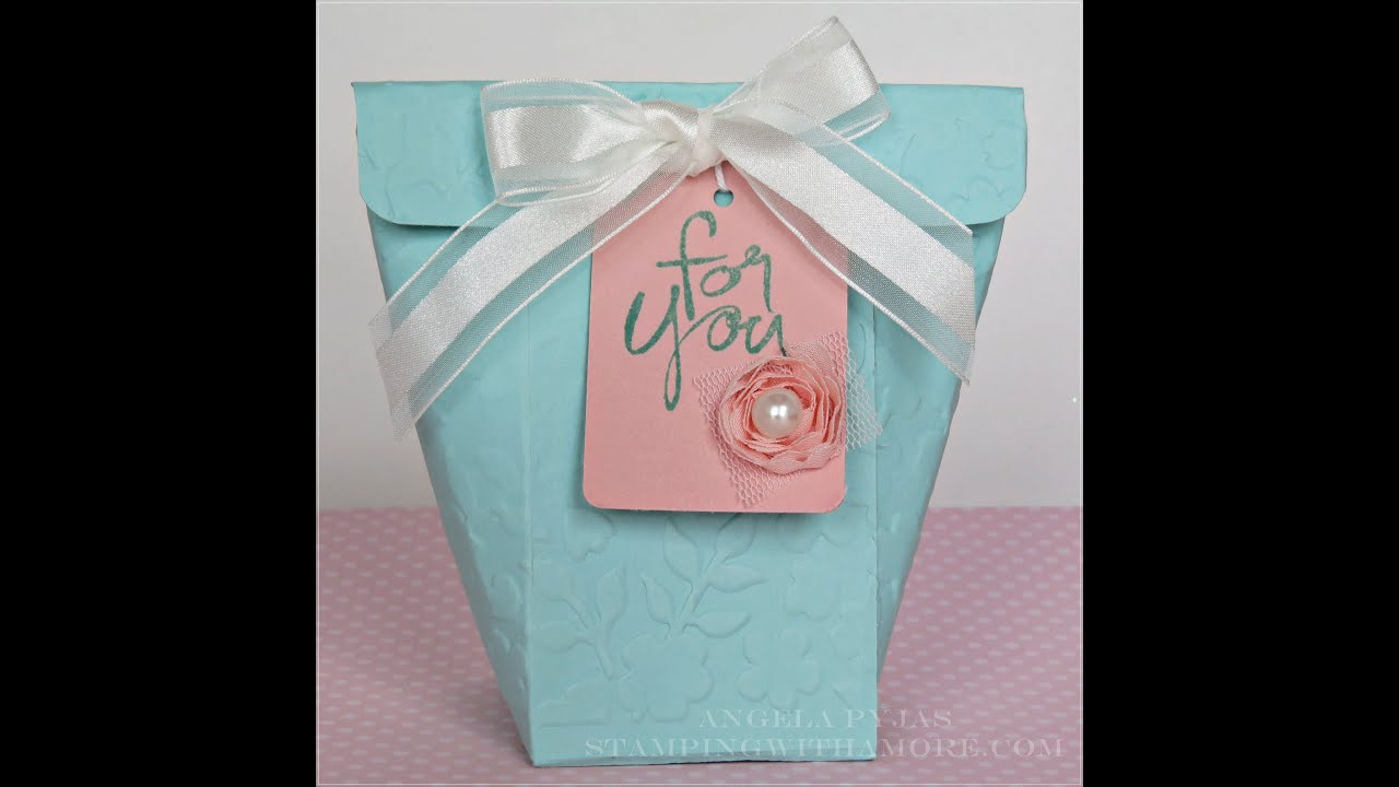 Flowering Mother\'s Day Treat Bag - YouTube