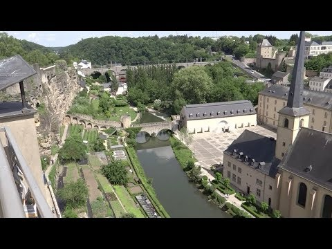 Luxembourg City, Luxembourg - Full Tour (2018)